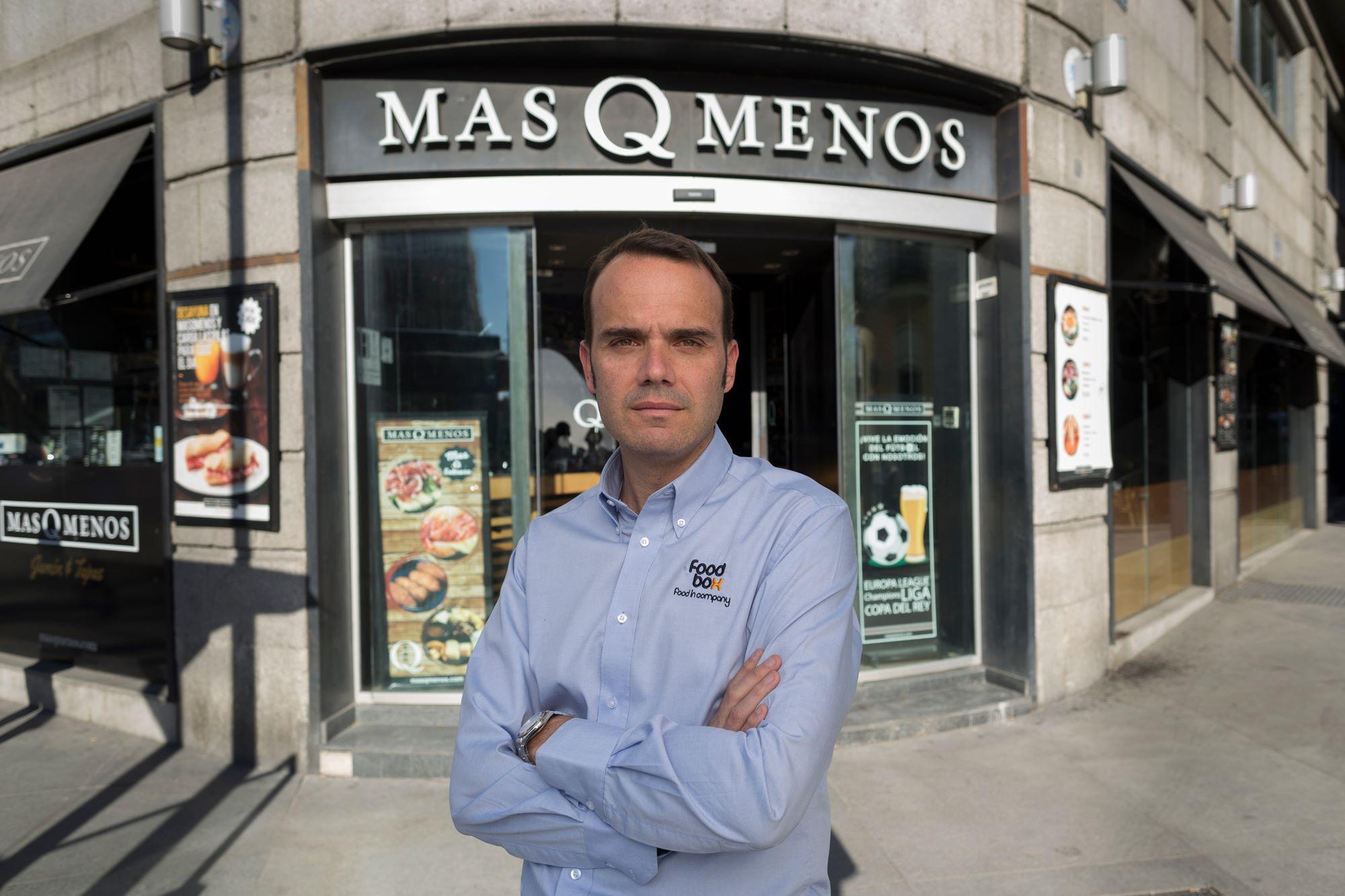 Augusto Méndez de Lugo, CEO de Foodbox