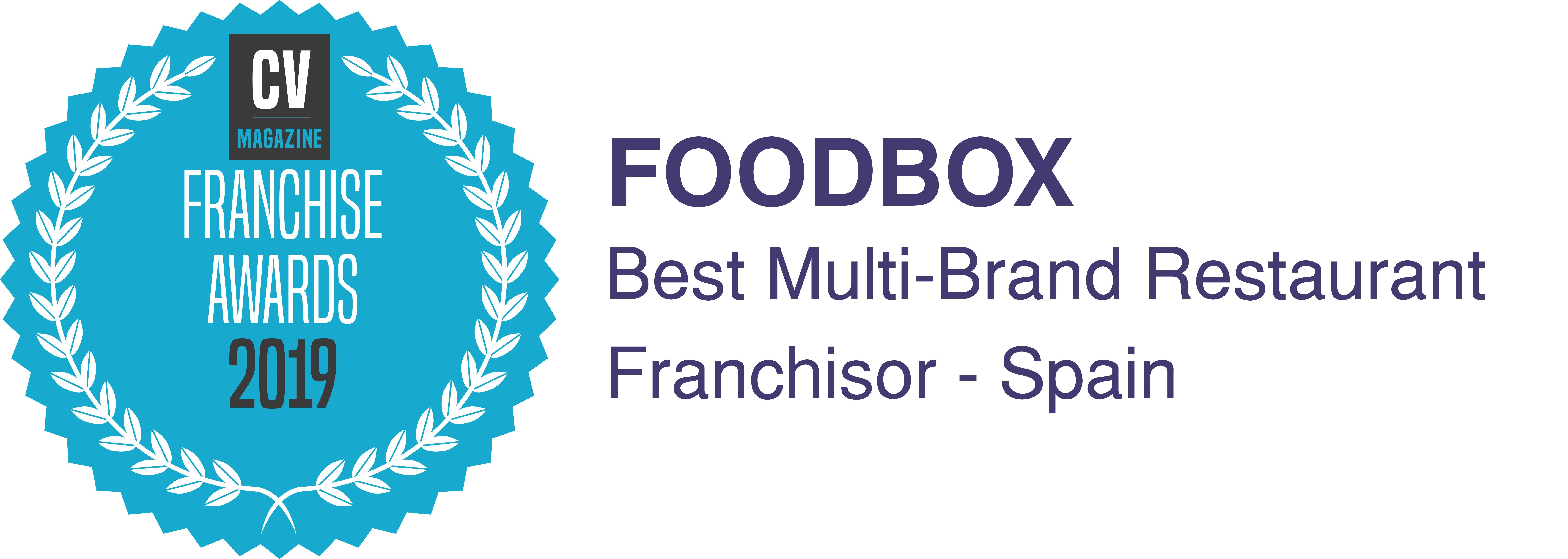 Foodbox, ganador del Premio Franchise Award al Mejor Franquiciador Multimarca - Franquicias de Restauración líderes en España. Abre tu restaurante 4